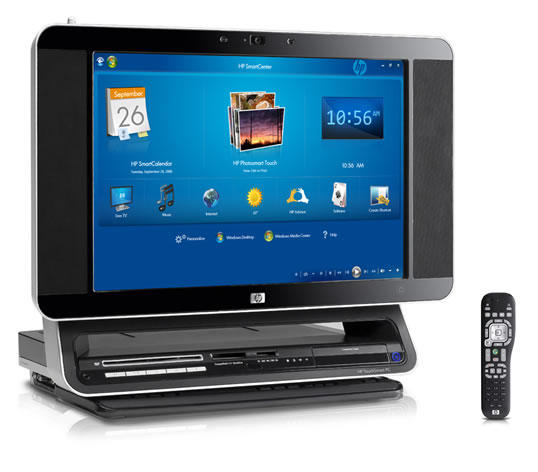 touch smart a touch screen pc from hp. Black Bedroom Furniture Sets. Home Design Ideas